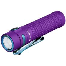 Olight S2R II Rechargeable Baton Purple Variable-Output LED Flashlight, 1,150 Max Lumens