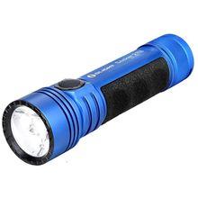 Olight Seeker 2 Pro L-Dock Rechargeable On-the-Go LED Flashlight, Blue, 3200 Max Lumens