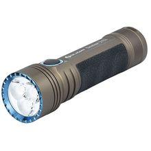 Olight Seeker 2 Pro L-Dock Rechargeable On-the-Go LED Flashlight, Desert Tan, 3200 Max Lumens