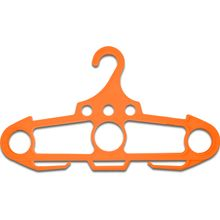 Ontario Jericho Hanger, Orange Polypropylene, 250 Pound Weight Capacity