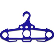 Ontario Jericho Hanger, Blue Polypropylene, 250 Pound Weight Capacity