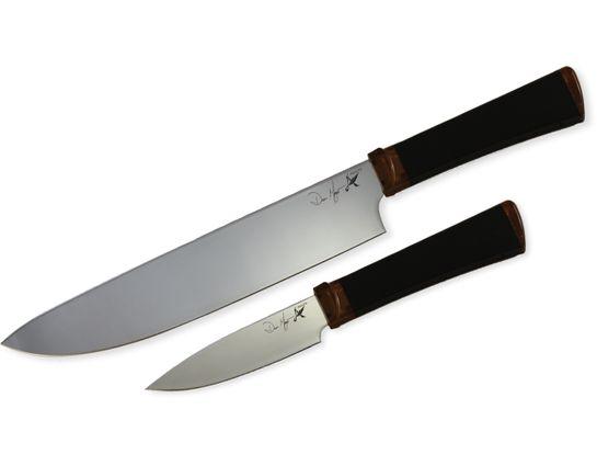 Ontario Agilite 2-Piece Paring/Chef Knife Set, Sandvik 14C28N Blades