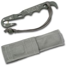 Ontario Rescue Hook/Multi Tool Deluxe PET #1 Foliage Green with Sheath