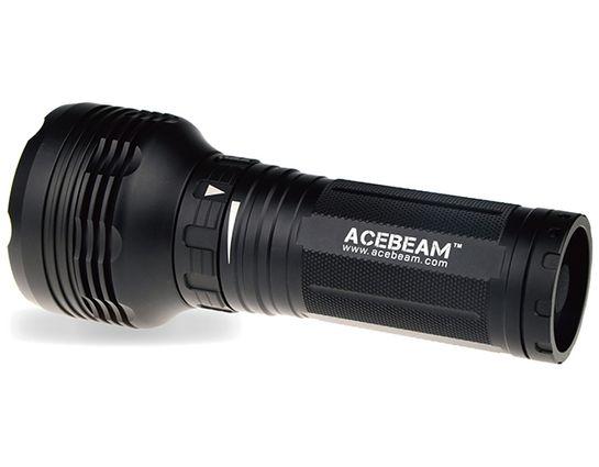 AceBeam K40S LED Flashlight, Black, 1500 Max Lumens