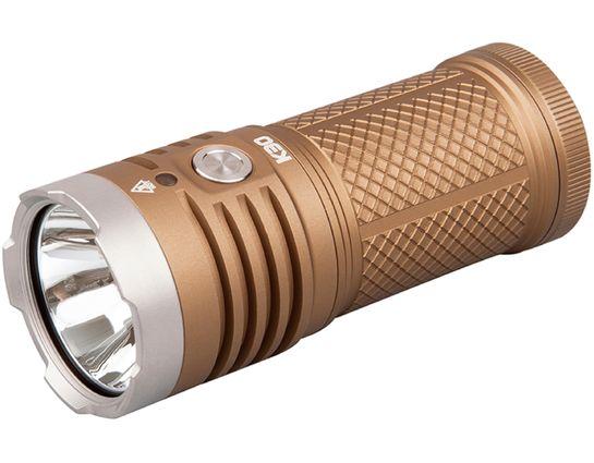 AceBeam K30 LED Flashlight, Tan, 5200 Max Lumens
