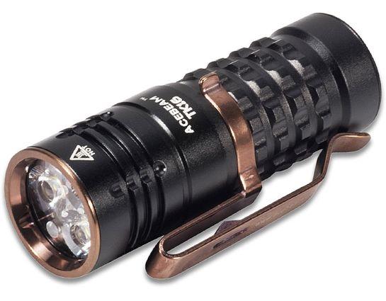 AceBeam TK16 SST-20 CRI95 LED Flashlight, Aluminum, 1250 Max Lumens