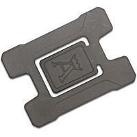 Jens Anso Custom Matrix Stonewashed Titanium Credit Card Holder