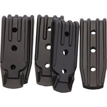 Armory Plastics Three Hole Belt Clip, Set of 5