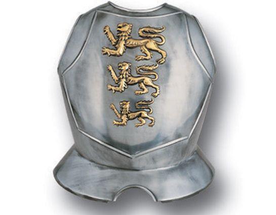 Armaduras Steel Breastplate w/Lions Passant