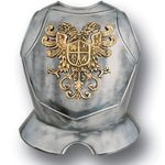 Armaduras Steel Breastplate w/Double Eagle Crest