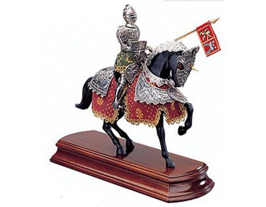 Armaduras Spanish Knight Miniature On Horseback
