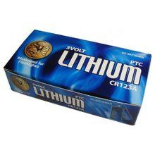 ASP CR123A Lithium Batteries, 50 Pack