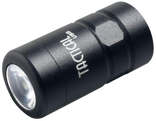 ASP Tactical USB Baton End Cap LED Flashlight, 100 Max Lumens