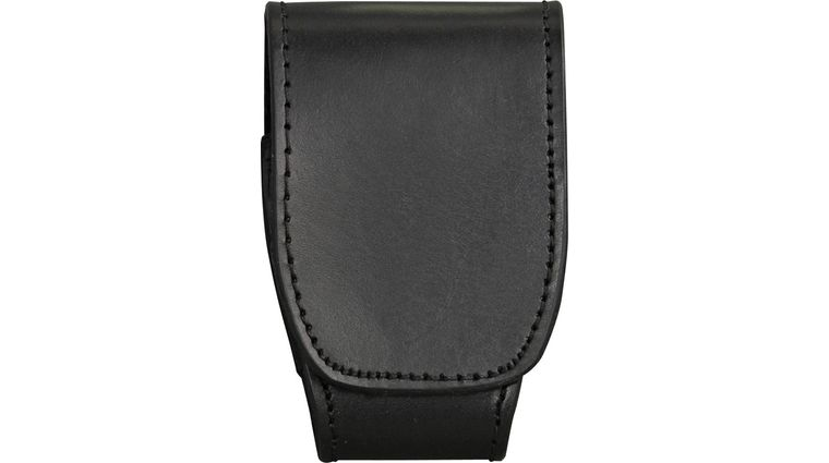 ASP Handcuff Duty Case, Black Leather