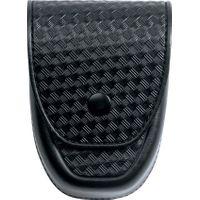 ASP Handcuff Duty Case, Basketweave Leather