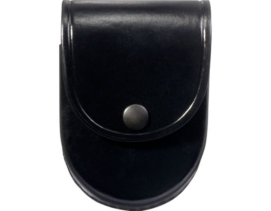 ASP Centurion Handcuff Case, Black Leather