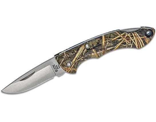 Buck 283 Nano Bantam Folding Knife 1.875 inch Blade, Muddy Water ETP Handles