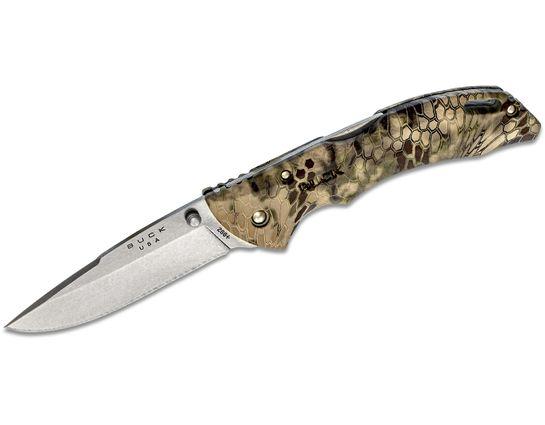 Buck 286 Bantam BHW Folding Knife 3.625 inch Blade, Kryptek Highlander ETP Handles