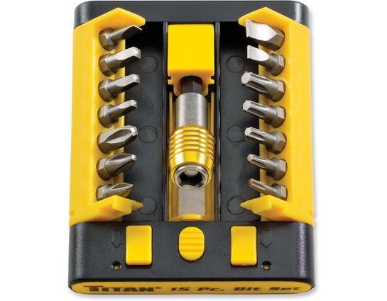 Buck Titan 15 Piece Hex Tool Bit Kit for Buck/TOPS CSAR-T Knives