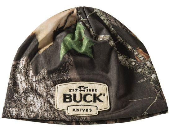 Buck 89067 Adult Camo Beanie, Mossy Oak Break-Up Camo