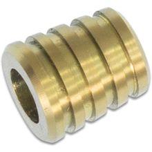 Bestech Knives Bestechman Titanium Small Barrel Bead, Gold