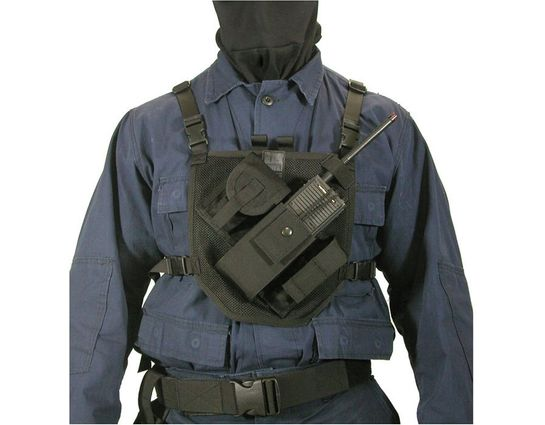 BLACKHAWK! Patrol Radio Harness, Black