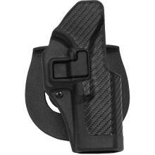 BLACKHAWK! SERPA CQC Concealment Holster, Carbon Fiber Finish, Fits Glock 19/23/32/36