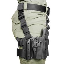 BLACKHAWK! SERPA Level 2 Tactical Holster, Right Hand, Fits Glock 20/21/21SF/37/38 and S&W M&P All Models, Black
