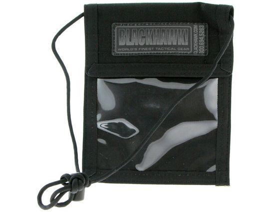 BLACKHAWK! ID Badge / Passport Holder, Black - 90ID01BK