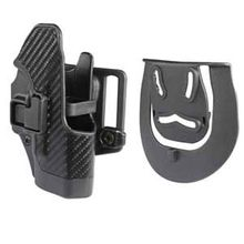 BLACKHAWK! CF Holster w/BL & Paddle Serpa, RH, Fits Glock 26/27/33