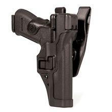 BLACKHAWK! Level 3 Serpa Duty Holster, RH,  S&W MP 9/40, Black