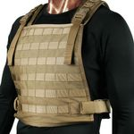 BLACKHAWK! S.T.R.I.K.E. Plate Carrier Harness, Coyote Tan
