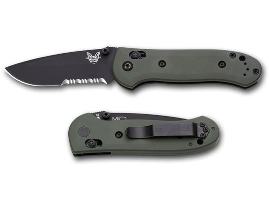 Benchmade 2008 Limited Edition Mel Pardue Axis Lock 3.25 inch D2 Steel Blade