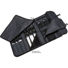Boker Forge Black Synthetic Chef's Set with Nylon Carry Case