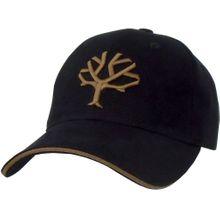 Boker Velcro Cap, Black with Brown Tree Brand Logo
