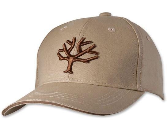 Boker Velcro Cap, Khaki with Brown Tree Brand Logo