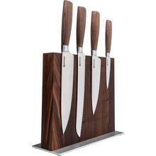 Boker Core Style 5 Piece Kitchen Block Set, Walnut Magnetic Block