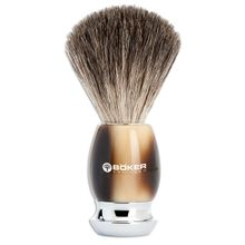 Boker Classic Horn Shaving Brush, Premium Resin Handle