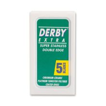 Boker Derby Double Edge Replacement Safety Razor Blades, 5 Pack