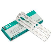 Boker Tondeo TSS 3 Double Edge Replacement Safety Razor Blades, 10 Pack