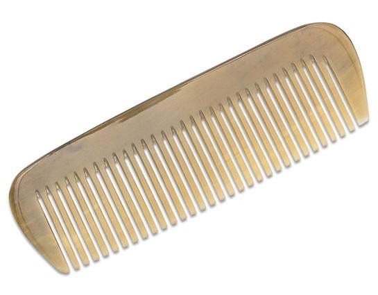 Boker Wide Teeth Pocket Comb, Horn