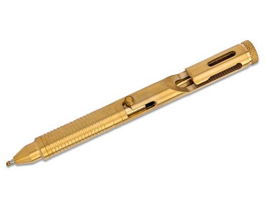 Boker Plus Tactical Pen CID CAL .45, Brass, Gold Finish