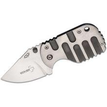 Boker Plus CLB Subcom Titan Folding Knife 1-7/8 inch VG10 Blade, Titanium Handles