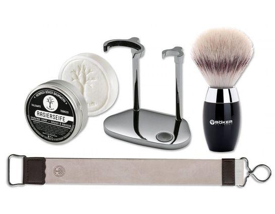 Boker 4 Piece Shaving Starter Set