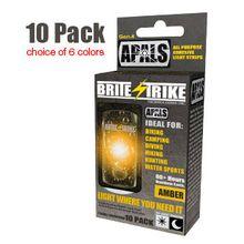 Brite-Strike APALS All Purpose Adhesive Light Strips, Amber (APALS10-AMB)