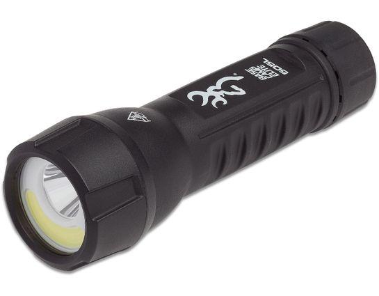 Browning Pro Hunter Base Camp Elite LED Flashlight, Black Polymer Body, 505 Max Lumens