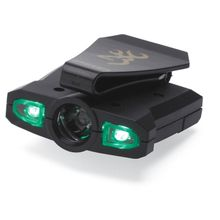 Browning Night Seeker Pro LED Cap Light, Black Polymer Body, 76 Max Lumens