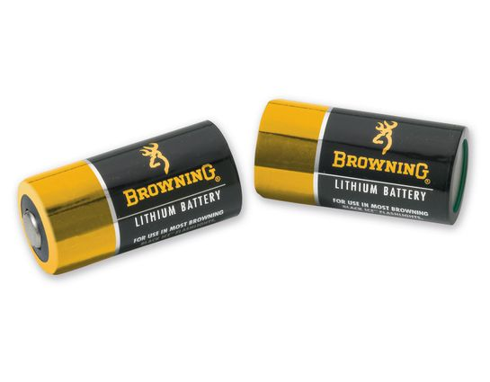 Browning CR123A Litium-Ion Batteries, 2-Pack