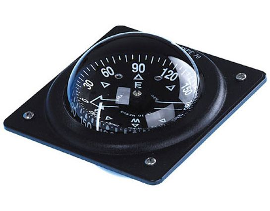Brunton Dash Mount Compass, Black