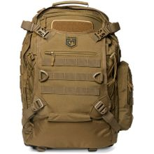 Cannae Pro Gear Phalanx Full Size Duty Pack with Helmet Carry, Coyote